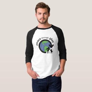 Peace through Play 3/4 Sleeve Shirt