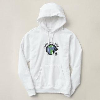 Peace through Play Hooded Sweatshirt