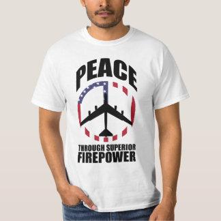 Peace Through Superior Firepower 2010 T-shirts
