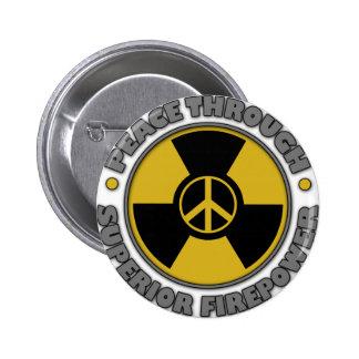 Peace Through Superior Firepower Button