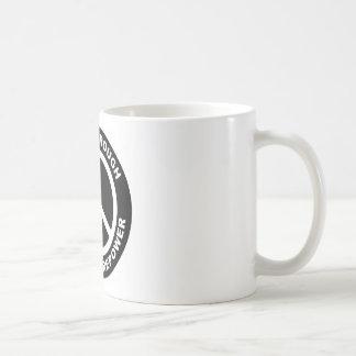 Peace Through Superior Firepower Basic White Mug