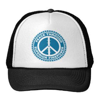 Peace Through Superior Firepower - Blue Hats