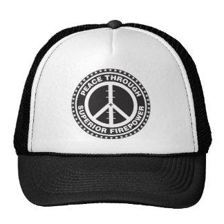 Peace Through Superior Firepower Cap