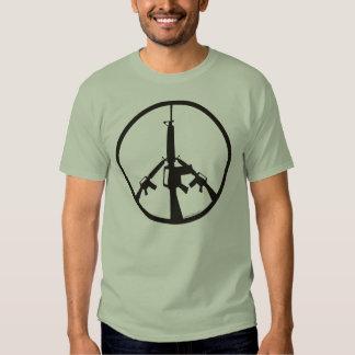 Peace Through Superior Firepower - Men Shirt