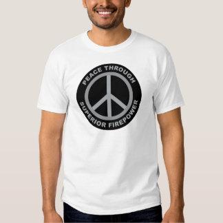 Peace Through Superior Firepower Tees
