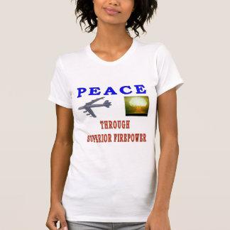 PEACE THROUGH SHIRT