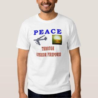 PEACE THROUGH TSHIRTS