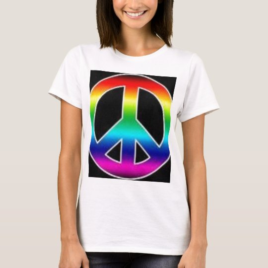 peace tie allover T-Shirt