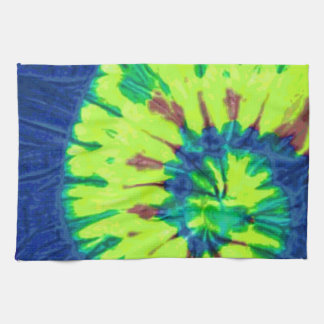 Peace Tie Dye 60s Hippy Love Tea Towel