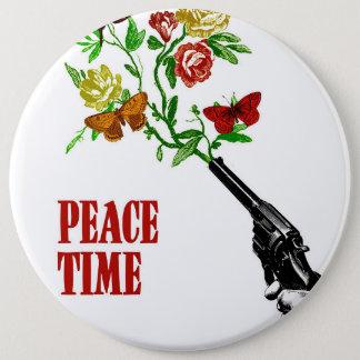 Peace Time! 6 Cm Round Badge