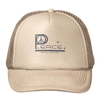 Peace to All Mankind Cap