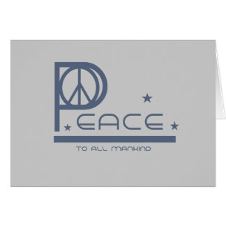 Peace to all Mankind T-shirts and Gifts Cards
