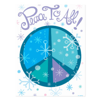 Peace to All! Postcard