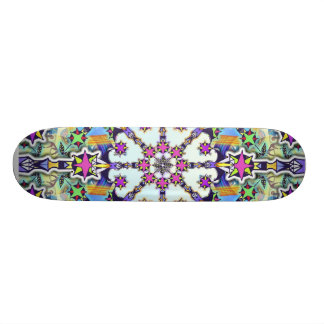 Peace to the Galaxy 21.6 Cm Old School Skateboard Deck