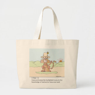 Peace to the World Tote Bags