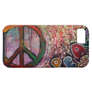 Peace Tough iPhone 5 Case
