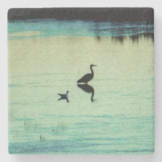 Peace & tranquility stone coaster