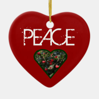 PEACE Tree Ornament