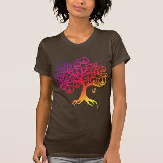 Peace Tree Tee Shirt