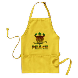 Peace Turtle Standard Apron