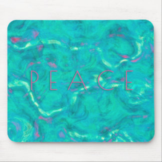 Peace Under the Caribbean Sea Abstract Art Mouse Mat