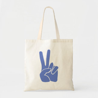 Peace Victory Budget Tote Bag