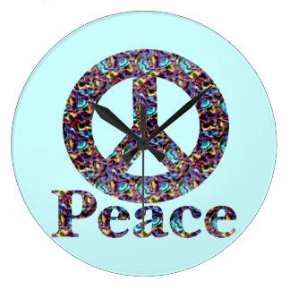 Peace Wall Clock
