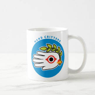 Peace White Dove with Olive Branch Coffee Mugs