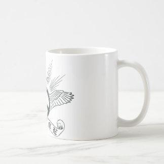 peace wing mug