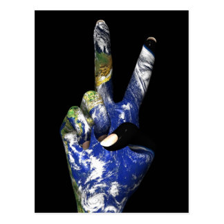 Peace with Earth Postcard