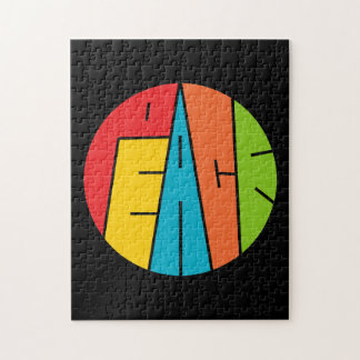 Peace - Word Art Jigsaw Puzzle