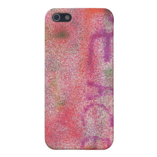 Peace Works Pink Airbrush Case For iPhone 5
