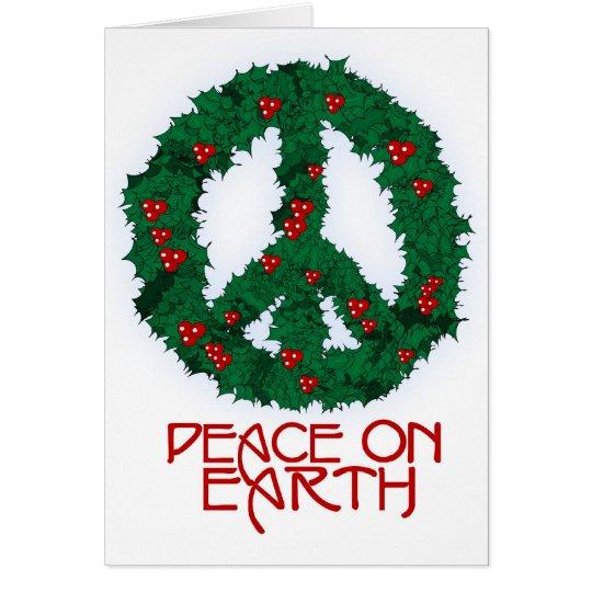 Peace Wreath Card 3