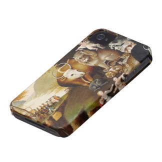 Peaceable Kingdom, c.1834 (oil on canvas) iPhone 4 Case-Mate Cases
