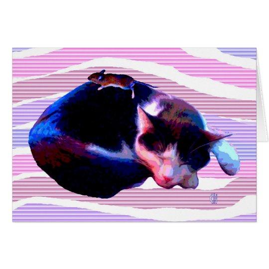 Peaceable Kitty Card