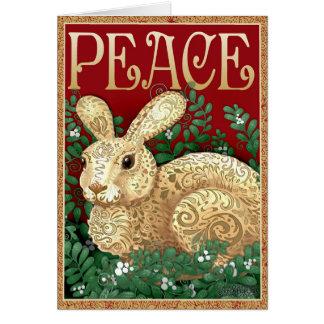 PeaceBunny Card