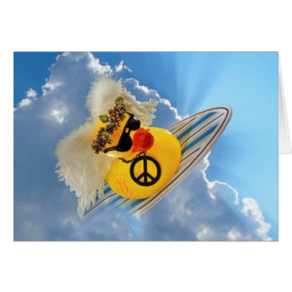 Peaced Out! Greeting Card