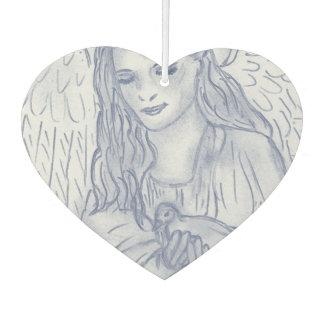 Peaceful Angel in Dusky Blue