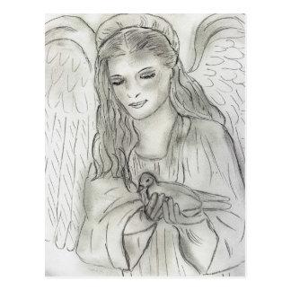 Peaceful Angel Postcards
