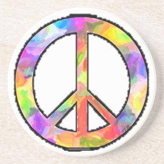 Peaceful Art Coaster