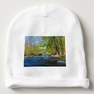 Peaceful At The River Baby Beanie