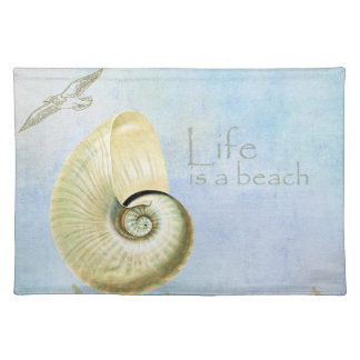 Peaceful Beach II Placemat