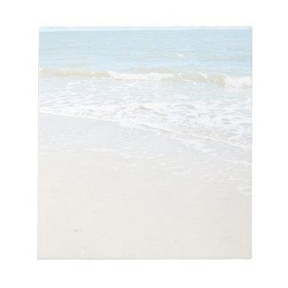 Peaceful Beach Notepad