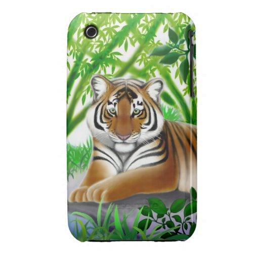 Peaceful Bengal Tiger iPhone 3 Case