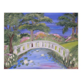 Peaceful Bridge Postcard