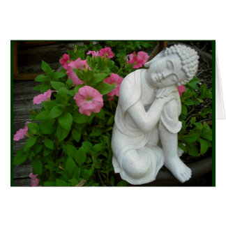 Peaceful Buddha Blank Card