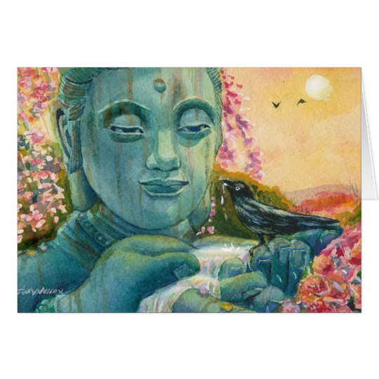Peaceful Buddha Card