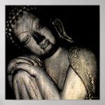 Peaceful Buddha Poster