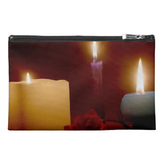 Peaceful Candles Travel Accessories Bag