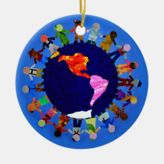 Peaceful Children around the World Ornament